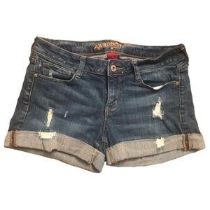 Arizona Denim Midi Shorts